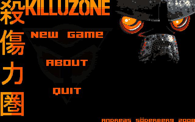 Killuzone title mockup