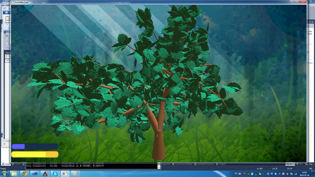 Fully grown tree