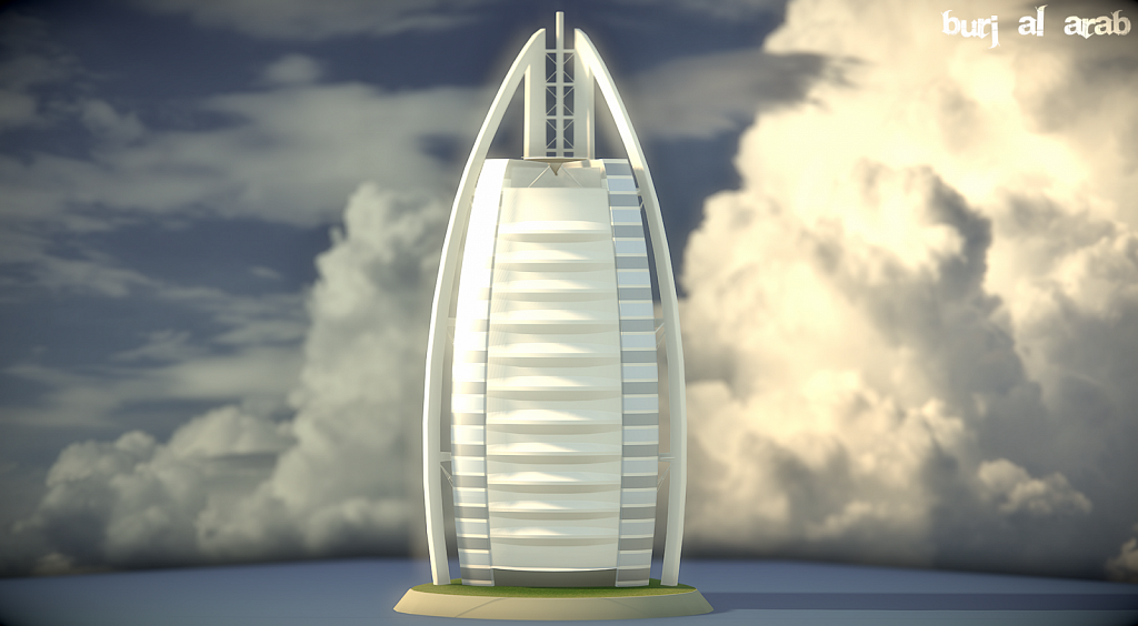 Burj Al Arab beauty render